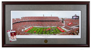 framed photo of Ohio Stadium